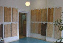 Holzboden-Ausstellung