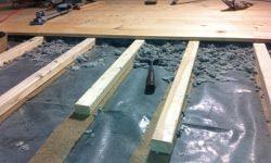 Lagerholz für Holzdielen