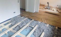 Lagerholz - Untergrundaufbau für Holzdielen