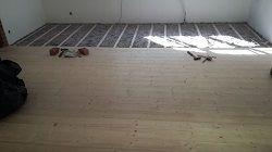 Lagerholzkonstruktion-Holzdielen