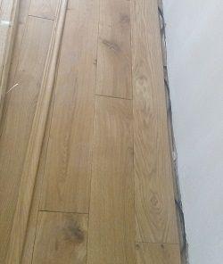 Klammerdielen - schwimmende Verlegung von Holzdielen aus Massivholz