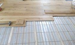 Thermisto Naturawood - Fußbodenheizung für Massiv-Holzdielen